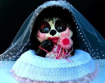 Hanna- The Bride Panda Bear Bank