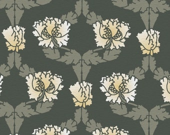 William Morris Wall STENCIL, Reusable - Damask Honeysuckle Allover Wall Pattern - DIY Home Decor