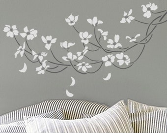 Decorative Wall Stencils tree stencil for walls linden tree large reusable wall