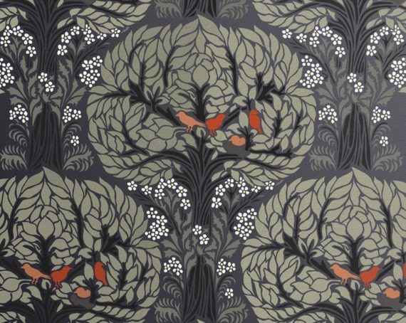 Tree Pattern Stencil For Walls Art Nouveau Tree Pattern With