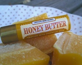 Honey Butter, Creamy Lip Balm with Upstate New York Honey & Beeswax, CO2 Extracts of Tahitian Vanilla and Butter, Meadowfoam Seed Oil - SALE