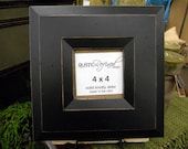 4x4 Canyon picture frame - Black