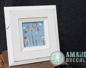 5x5 Canyon picture frame - White