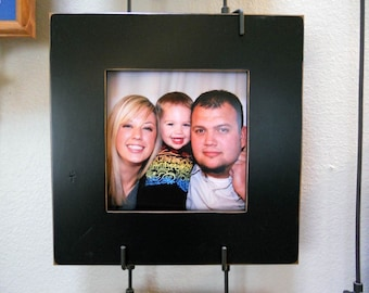 """8x8 Gallery 3"""" picture frame - Black"""