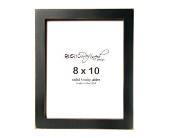 "8x10 Gallery 1"" picture frame - Black"