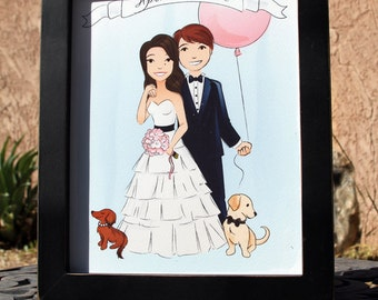 """8x10 Gallery 1"""" picture frame - Black"""