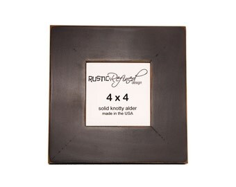 "4x4 Gallery 2"" picture frame - Black"