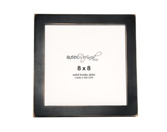 "8x8 Gallery 1"" picture frame - Black"