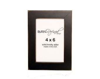 "4x6 Gallery 1"" picture frame - Black"