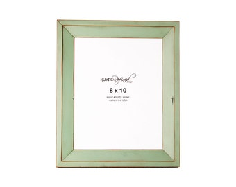 8x10 Haven picture frame - Sea Foam
