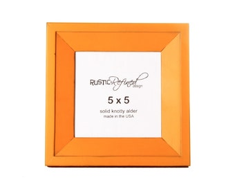 5x5 Haven picture frame - Mango
