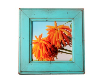 5x5 Moab picture frame -Turquoise
