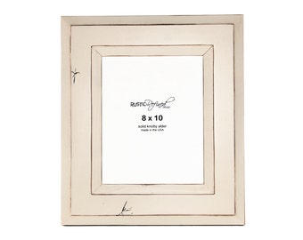 8x10 Canyon picture frame - White
