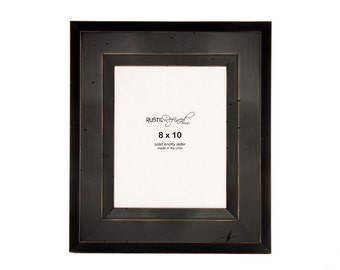 8x10 Canyon picture frame - Black