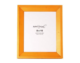 8x10 Haven picture frame - Mango