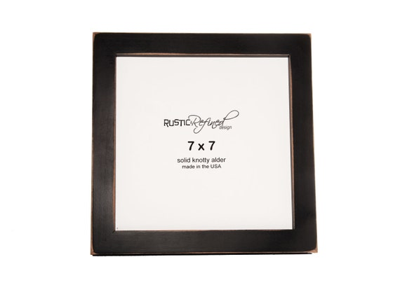 "7x7 Gallery 1"" picture frame - Black"