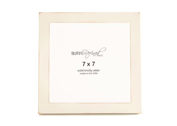 """7x7 Gallery 1"""" picture frame - White"""