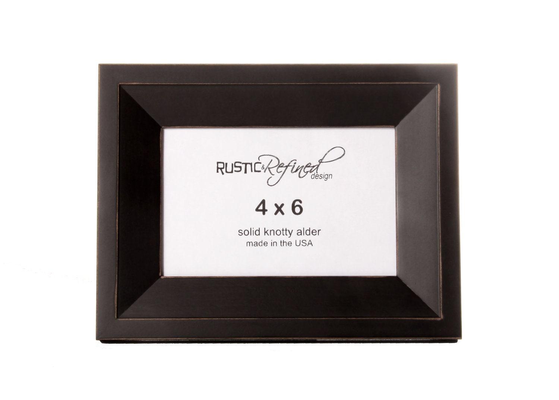 Wedding Favor Picture Frames 4x6 4x6 Haven Picture Frame Black ...