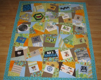 Baby Crazy T-Shirt Quilt