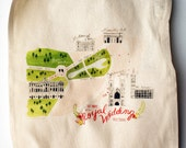 commemorative tote bag of royal wedding procession CLEARANCE