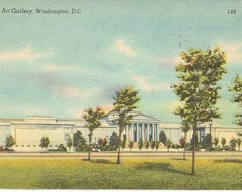 Vintage Postcards - Mellon Art Gallery - Washington DC