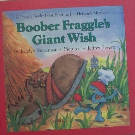 Vintage Children's Book - Fraggle Rock - Muppets