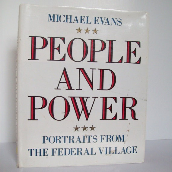 Vintage Books - People and Power - Portraits from the Federal Village