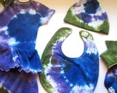 FOR LYN:  Baby 6-9M Tie Dye Cotton Skirt Only