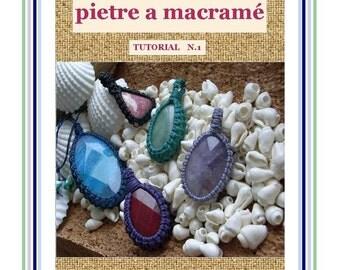 TUTORIAL  MACRAME  STONE Wrapping / Macrame Wrapping tutorial /Macrame pattern / Macramedamare Tutorial