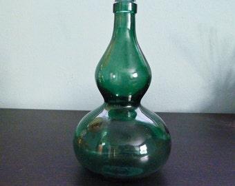 Vintage double tiered bud vase