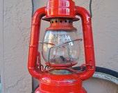 Vintage Red Lantern Dietz Comet 1950s