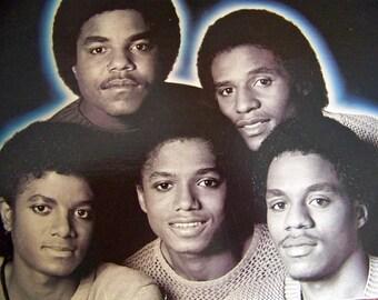 Vintage Jackson 5 Vinyl Record Album Jacksons Triumph Jackson Music Michael Jackson LP Vintage 1980s