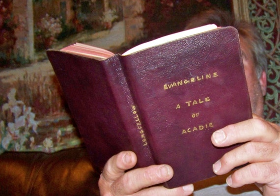Antique Longfellow Poetry Book late 1800s