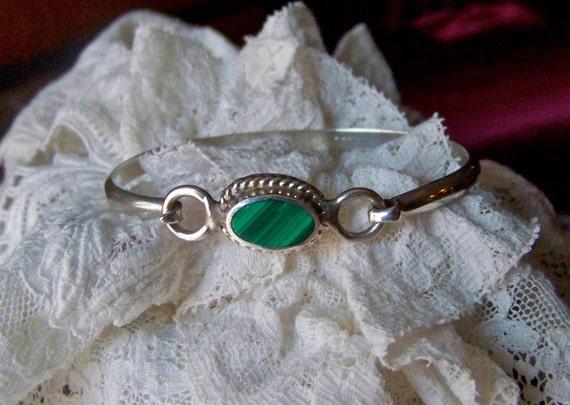 Vintage Malachite Bracelet