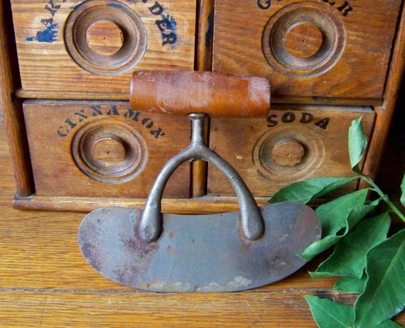 Vintage Curved Chopping Knife