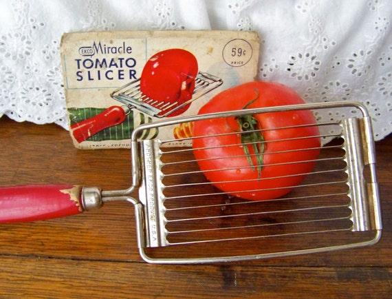 Trancheuse De Tomate Vintage Par Ekco Cuisine R Tro Ustensile
