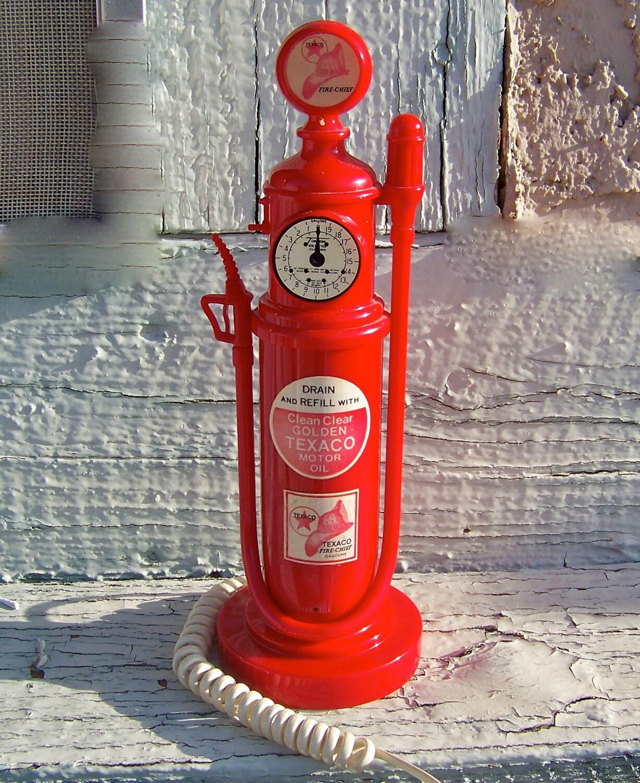 Vintage Gas Pump Novelty Phone