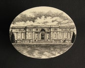 Memorial Art Gallery, Roch. N.Y. ink drawing, souvenir box - blancoynegro