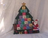 Christmas Tree Advent Calander