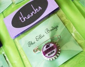 UP THEME- Ellie Badge Party Favor- UP Movie Theme- Cello Favor Bag with Cardstock Flap and Insert to Match Theme- Qty 5