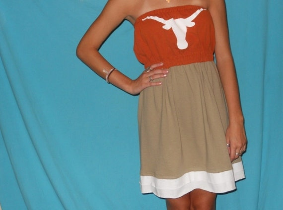 Texas Longhorns Game Day Dress - Tailgate in Style