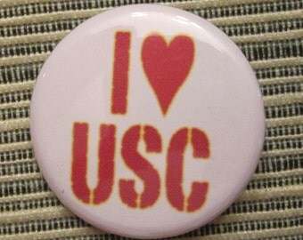 I 'Heart' USC 1.25 inch Pinback Button