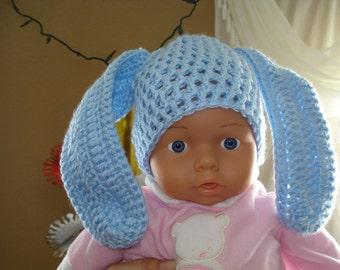 Ester Bunny Baby hat for newborn baby