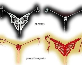 Woman Bikini  Pattern only BUTTERFLY BIKINI NEW