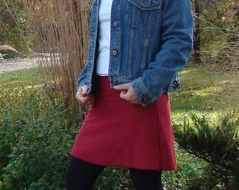 Red Flirt Skirt