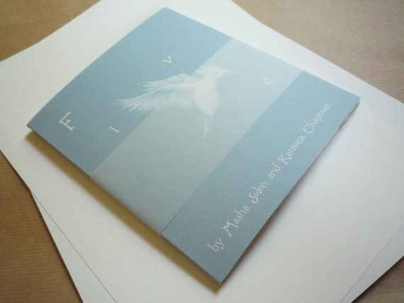 My hand-made illustrated book 'Five'