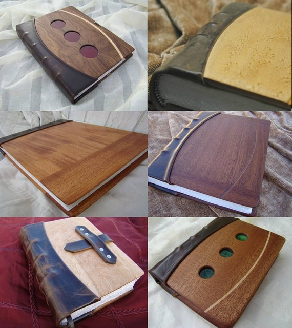 Custom Handmade Book to Commemorate a Truly Special Person, Event, or Idea - for You, A Loved One, A Company, etc.