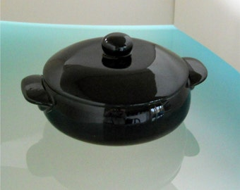 1960's Black Oven Proof Box