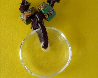 Glass Pendant / Millefiori Beads