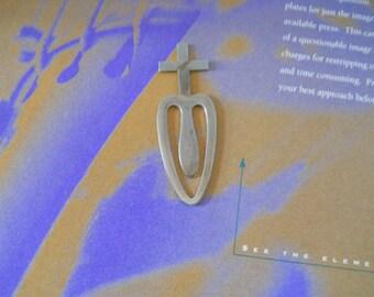Cross Motif - Bookmark
